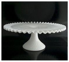 white milk glass by Amethyst