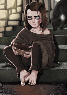 Arya Stark fan art