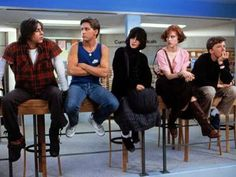 "The 50 best ""old"" movies every young person needs to watch, according to CosmopolitanThe Breakfast Club - 1985Five high-schoolers (a brain, an athlete, a basket case, a princess, and a criminal) spend a Saturday in detention together - and realize they're not that different from each other after all. Soundtrack gem: ""Don't You (Forget About Me),"" by the Simple Minds. Photo: Universal Studios"