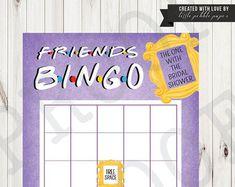 FRIENDS TV Show Invitation Friends Party by LittlePebblePaper