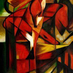 expressionism - The Fox - Franz Marc