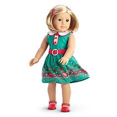 Love this, purchased it. But no barrette in the Box. Sad about that.  My Daughter loves this Doll soooo much.