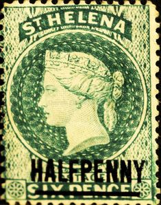 St. Helena (03) 1884 -1894 Queen Victoria - Not Issued Stamps Surcharged