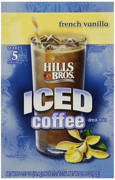 Hills Bros Iced Coffee French Vanilla -- Check this awesome product by going to the link at the image.