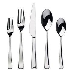 Gourmet Settings Strand 28-852 Flatware Set, 20-Piece #top10bestpro #flatwares