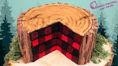 How to make a Lumberjack Cake ~ Cookies, Cupcakes, and Cardio