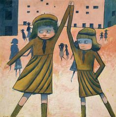 The schoolgirls of Charles Blackman – haunting works from a politically innocent age Australian Painters, Australian Artists, Alice In Wonderland Series, Dope Art, Art Lessons, Painting & Drawing, Buy Art, Animation, Drawings