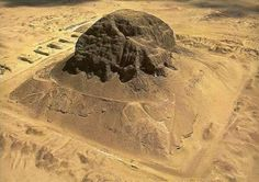 Pyramid Ruins of Senusret II at Illahun, Kemet Ancient Egyptian Art, Ancient Ruins, Ancient Artifacts, Ancient History, Egyptian Pharaohs, Modern Egypt, Archaeological Finds, Ancient Mysteries, Ancient Architecture