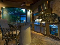 Top your outdoor islands, bars and grill areas with these rock solid surfaces.