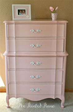 Shabby Chic - Nothing shabby about this dresser, believe me.