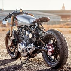 OVERBOLD MOTOR CO. — Yamaha XV750 - by @agetrotta #MotorcycleDreams...