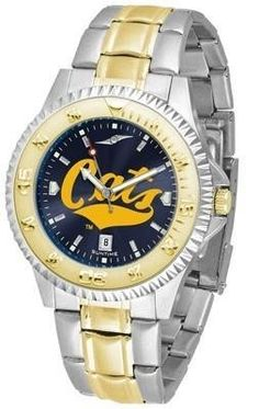 Montana State University Men's Stainless Steel and Gold Tone Watch by SunTime. $94.95. Two-Tone Stainless Steel. Officially Licensed Montana State MSU Fighting Bobcats Men's Stainless Steel and Gold Tone Watch. Links Make Watch Adjustable. AnoChrome Dial Enhances Team Logo And Overall Look. Men. College two tone men's stainless steel and gold dress watch. A classic, business-appropriate look. Montana State Fighting Bobcats wrist watch features a gold ion-plated bezel, stai...