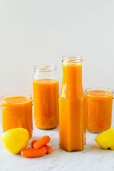 Mango Carrot Lemonade...juice carrots instead of cooking  blend with fresh mango...yum!
