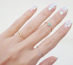 The trend recently picked up in South Korea. | Broken Glass Nails Are The Latest Manicure Trend And They're As Badass As They Sound