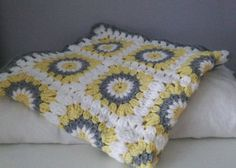 Beautiful handmade crochet baby blanket suitable for a baby boy or girl  Perfect gift for a baby shower Available in any colour with white and
