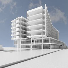 Jesolo Lido Hotel – Richard Meier & Partners Architects