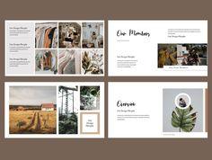 Brand Presentation, Presentation Templates, Cheap Backyard Wedding, Candle Wedding Centerpieces, Creative Icon, Brand Guidelines, Tomboy Fashion, Keynote Template, Minimal Fashion
