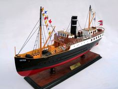 Model DS Oster Steam Ship