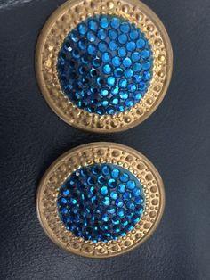 Vintage Richard Kerr Clip Earrings