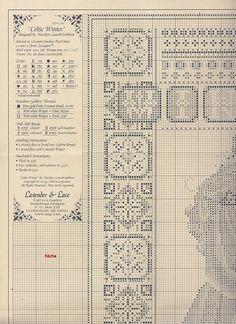 celtic winter 2.5 Solo Patrones Punto Cruz (pág. 53) | Aprender manualidades es facilisimo.com