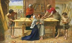 John Everett Millais - Christ in the House of His Parents (`The Carpenter's Shop') - Google Art Project.jpg