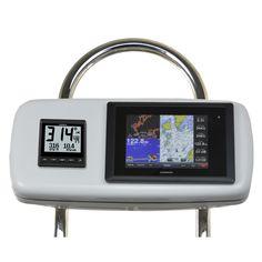"""NavPod GP2040-11 SystemPod Pre-Cut f/Garmin 8008/8208 & 1 Instrument f/12"""" Wide Guard"""