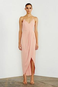 Shona Joy Core Cocktail Draped Dress Dusty Pink find it and other fashion trends. Online shopping for Shona Joy clothing. This dress features spaghetti. Bridesmaid Dresses Australia, Dusty Pink Bridesmaid Dresses, Affordable Bridesmaid Dresses, Blush Pink Dresses, Bridesmaid Dresses Online, Party Dresses Online, Wedding Bridesmaids, Blush Cocktail Dress, Beautiful Cocktail Dresses