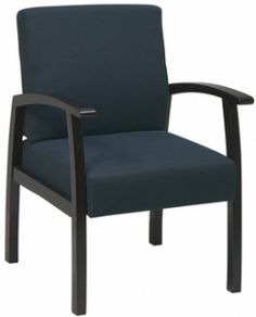 Office Star WD1353 - Work Smart Deluxe Mahogany Finish Guest Chair   Sale Price: $169.00