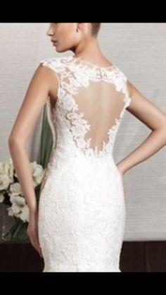 Lace back dress1