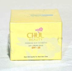 Thai herbal Premium Silk Cosmetic Day Cream SPF25 20g. (Natural Organic) by Chul Beauty. $75.00. Thai herbal Premium Silk Cosmetic Day Cream SPF25 20g. -Younger face -Best skin quality for best skin care Directions After cleansing skin, apply and leave overnight. Smooth cream over entire face and neck with your finger tips.