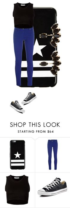 """""""Untitled #2159"""" by misnik ❤ liked on Polyvore featuring Givenchy, M Missoni, Julien David, Converse, women's clothing, women, female, woman, misses and juniors"""