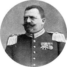 Der neue Polizeipräsident Herr von Stubenrauch trat sein Amt an - der Grund für den Rücktritt des Vorgängers - der Job war ihm zu stressig.