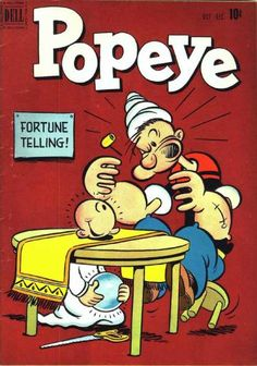 Cover for Popeye (1948 series) #18