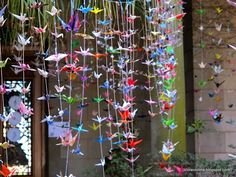 VIOLA VIOLETA: Paper Cranes