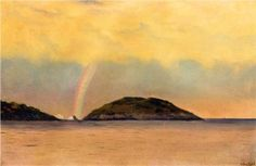 Rainbow over the Arctic - William Bradford