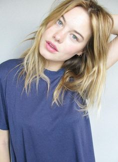 Natürlicher Look - Haare / Make-up....Camille Rowe | Inspiration for Photography Midwest | photographymidwest.com | #photographymidwest #pmw