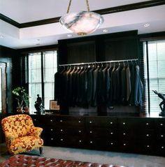 Men's dressing room; Todd Yoggy