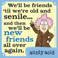 Today on Aunty Acid - Comics by Ged Backland Aunty Acid, Funny Cartoons, Funny Jokes, Hilarious, Funny Minion, Happy Minions, Auntie Quotes, Funny Signs, Just For Laughs