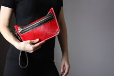 iPhone Clutch Wallet Smartphone Wallet Clutch by VitalTemptation