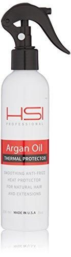 HSI PROFESSIONAL Argan Oil Heat Protector | Protect up to 450º F from Flat Irons
