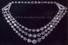 Mandy's British Royalty: Royal Jewels - Necklaces