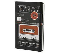 Świetny notes retro. Szkoda, że już się nie używa kaset...