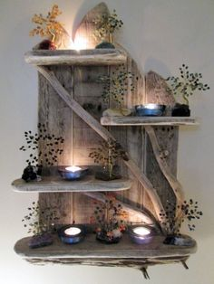 Enchanting Unique Driftwood Shelves Solid Rustic Shabby Chic Nautical in Home, Furniture & DIY, Furniture, Bookcases, Shelving & Storage | eBay!