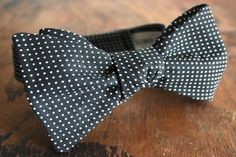 Lord Wallington Handmade Pink Polka Dot Bow Tie by LordWallington, $40.00