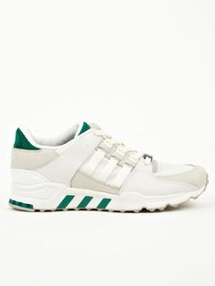 buy online 91f8c 509cc adidas Originals Mens White Green EQT Running Support 93 Sneakers   oki-ni