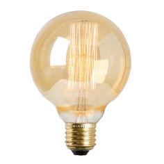 Lamppu/polttimo Globe, Ø8 cm, - Kodinsisustusta - kodintekstiilejä - Hemtex