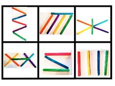 Imagenes de palos Color Activities For Toddlers, Preschool Learning Activities, Preschool Activities, Kids Learning, Popsicle Stick Crafts For Kids, Craft Stick Crafts, Free Cards, Bee Crafts, Color Crafts