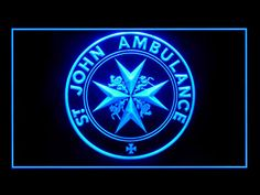 St John Ambulance Bar Beer Neon Light Sign