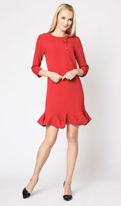 Robe GEORGINA rouge