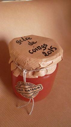DIY gelée de coings Un cadeau gourmand Simple, Diy, Decor, Quince Jelly, Gourmet Gifts, Baskets, Noel, Decoration, Bricolage